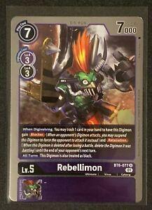 Rebellimon | BT6-077 R | Rare | Purple | Double Diamond | BT06 | Digimon TCG