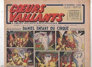 COEURS VAILLANTS 1942 n°32. Hergé. Tintin Le crabe aux Pinces d'Or.