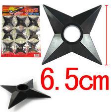 Dz612* Cosplay Ninja Hokage Naruto Bleach Pvc 6.5cm Ninja darts Shuriken x9