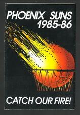 Phoenix Suns--1985-86 Pocket Schedule--Circle K