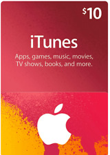 Tarjeta de regalo de iTunes $10 US App Store de Apple/código de clave | American USA | Iphone Etc.