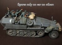 █ 1/35 Resin German Panzer Crew 5 Figures in Battle Unbuild Unpainted BL579