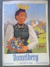 Broschüre Heft Bildband Vorarlberg Fremdenverkehr ca. 1940 / Fotos Risch-Lau ua.