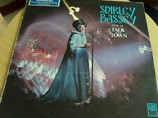 SHIRLEY BASSEY * LIVE AT THE TALK OF THE TOWN * LP VINYL * UNITED ARTISTS UAS 29