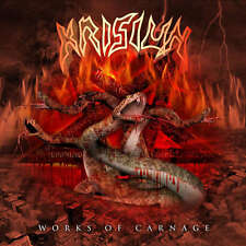 KRISIUN - Works Of Carnage - Vinyl-LP - black Vinyl
