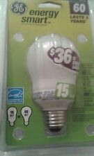 GE ENERGY SMART DECORATIVE LIGHT BULB 15W = 60W LOT-3PCS   #41439  NEW ORIGINAL