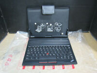 """New Open Box Lenovo ThinkPad 10.1"""" Tablet Keyboard Folio Case TrackPoint 0A36370"""