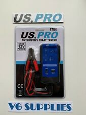 US PRO Tools Automotive Relay Tester NEW 6794