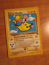 NM Pokemon FLYING PIKACHU Card BLACK STAR PROMO Set #25 Wizard of the Coast WOTC