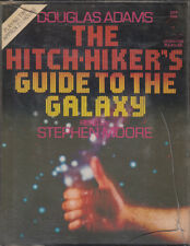 Hitch Hikers Guide To The Galaxy Douglas Adams 2 Cassette Audio Book Abridged