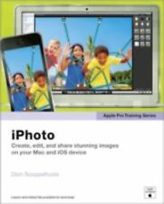 NEW! Apple Pro Training Series: iPhoto by Dion Scoppettuolo [Paperback]