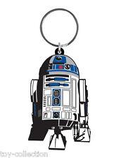 R2-D2 Droid - Star Wars - Gummi Schlüsselanhänger / rubber keychain