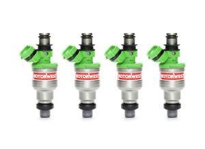 OEM Fuel Injector Set of 4 23250-16100