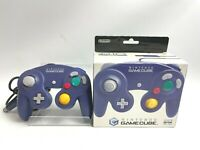BOXED Nintendo Gamecube controller purple violet test working ok Japan FEDEX