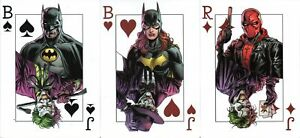 BATMAN THREE JOKERS SET OF 3 PROMO TRADING CARDS (DC COMICS)