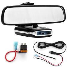 Mirror Mount Bracket + Direct Wire Power Cord + ATO Fuse Tap Escort Max Max2