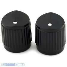 NEW (2) Black Bevel Top Steinberger® Style Knobs for Guitar or Bass