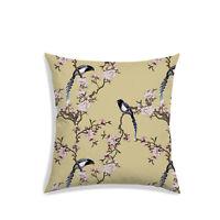"Bird 3D Print Cushion Cover Satin Home Decor Sofa Couch Pillow Cover 12"" Inch"