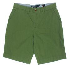 NEW Mens Tommy Hilfiger Moss Green Twill Classic Fit Khaki Chino Shorts Sz 32