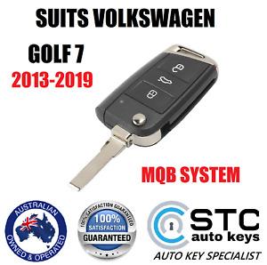 suits VW VOLKSWAGEN GOLF 7 MQB MARK 7 REMOTE KEY 2013 2014 2015 2016 2017 2018