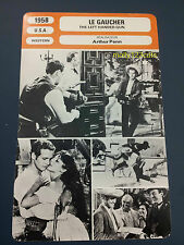 Paul Newman Arthur Penn Western Film The Left Handed Gun French Trade Card