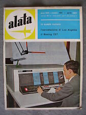ALATA # 202 - RIVISTA AERONAUTICA - APRILE 1962 - BUONO