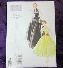 Vogue Vintage V 2962 Misses' Dress 1957 Sewing Pattern Classic Style 4-10 New!