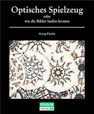 Book on Optical Toys (Thaumatrope, Zoetrope etc.)