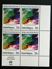 NATIONS-UNIS (new-york) timbre / stamp Yvert et Tellier n°543 x4 n** (Cyn13)