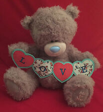 "ME TO YOU BEAR TATTY TEDDY X LARGE 20"" LOVE STRING OF HEARTS BANNER BEAR GIFT"