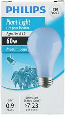 Phillips 429480 A19 60-Watt Medium Base Incandescent Agro-Lite Plant Light Bulb