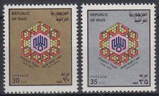 Irak Iraq 1977 ** Mi.929/30 Pilgerfahrt Pilgrimage to Mecca