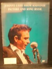 JOHNNY CASH SHOW SOUVENIR PICTURE AND SONG BOOK~1966~TOUR ORIGINAL PROGRAM