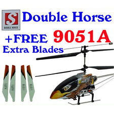 Double Horse 9051A Helicopter 3.5ch GYRO + EXTRA BLADES