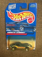 Hot Wheels 2000 Mainline Guaranteed For Life Blue C3 Corvette Stingray
