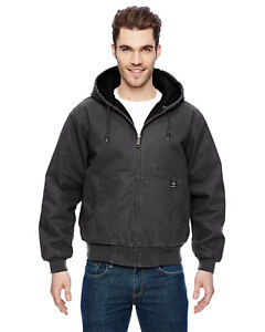 DRI DUCK Boulder Cloth Canvas Cheyenne Hooded Men's Work Jacket Tall Sizes - New