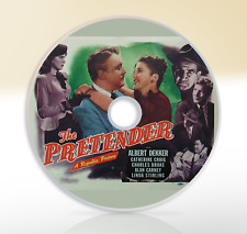 The Pretender (1947) DVD Classic Crime Drama Movie / Film Albert Dekker