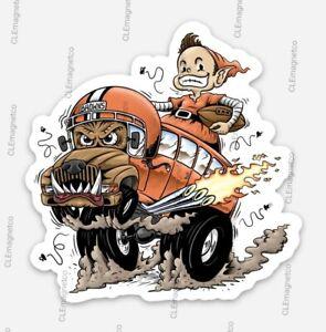 🔥 Brownie the ELF Magnet - Cleveland Browns Tailgating Muni Dawg Pound Ratfink