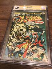 The X-Men #94 (Aug 1975, Marvel) CGC 9.0 SS Chris Claremont 1st New X-Men