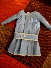 Très jolie Ancienne robe   fin XIXème  poupée JUMEAU poupée Parisienne de Mode