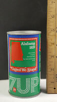 Alabama 1976 7up United We Stand Can Flat Pull Tab Top 1 of 50 Rare Vintage