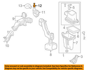 TOYOTA OEM Air Cleaner Intake-Union 9090406008