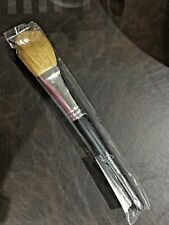 """bareMinerals """"LONG HANDLED Flawless Application Face Brush""""~New/Sealed!"""