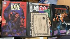 vengeance of bane 1 signed collectors set 2nd print limited edition Binder!