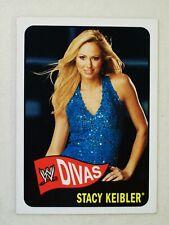 2005 WWE Topps Heritage Divas Card, Stacy Keibler #66