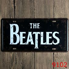 Metal Tin Sign the beatles Decor Bar Pub Home Vintage Retro Poster Cafe ART