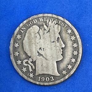 1903-O Barber Half Dollar US Coin D153