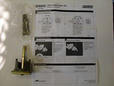 "Schlage F58 / F60 Handleset 2 1/4"" Thick Door Conversion Kit for Nickel & Chrome"