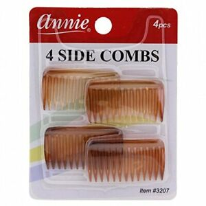 ANNIE SIDE COMBS SMALL 4 PCS #3203 & #3207 YOU CHOOSE COLOR