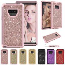 Fr Samsung Galaxy Note8 9 Hard Case Silicone Bumper Luxury Glitter Plastic Cover